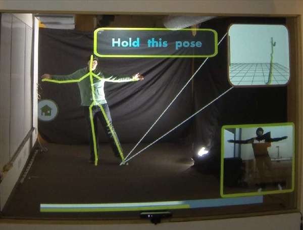 YouMove: Enhancing Movement Training with an Augmented Reality Mirror