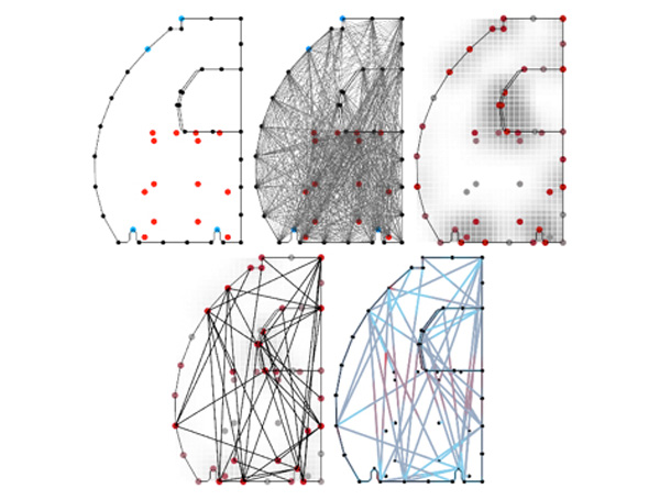 Nature-based Hybrid Computational Geometry System for Optimizing Component Structure