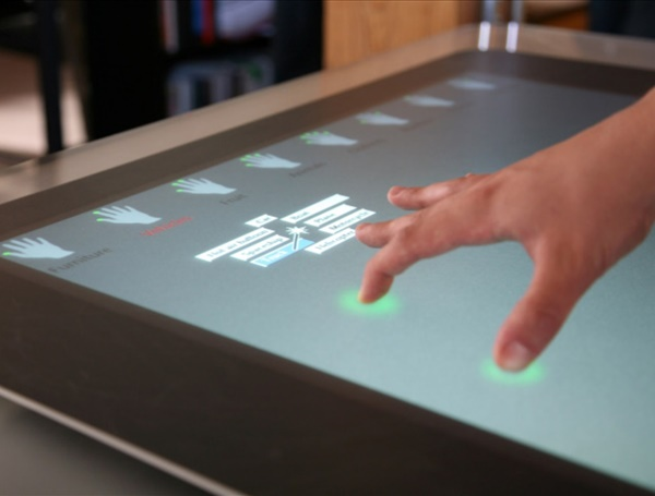 The design and evaluation of multitouch marking menus