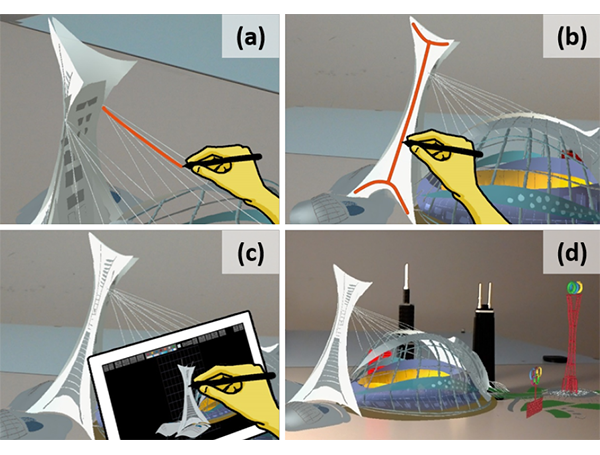 SymbiosisSketch: Combining 2D & 3D Sketching for Designing Detailed 3D Objects in Situ