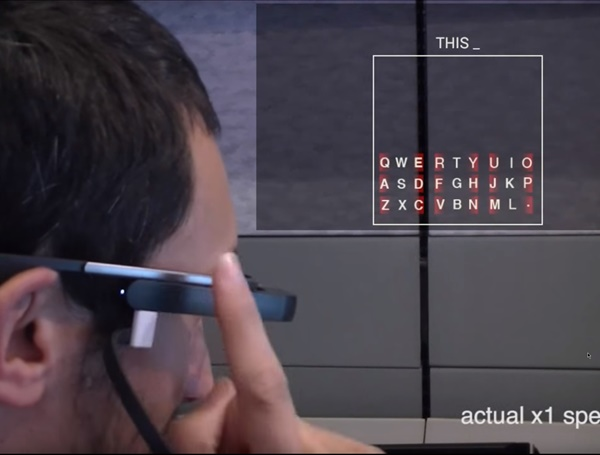 Typing on Glasses: Adapting Text Entry to Smart Eyewear