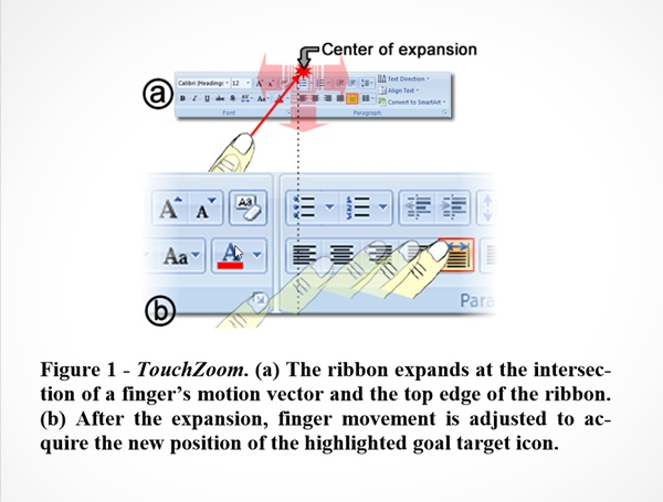 TouchCuts and TouchZoom: Enhanced Target Selection for Touch Displays using Finger Proximity Sensing